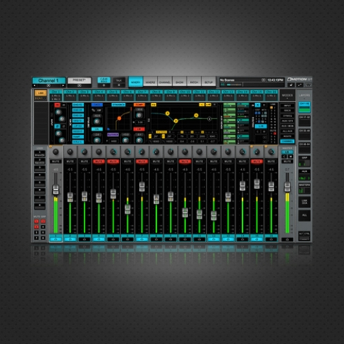 [전자배송] eMotion LV1 Live Mixer – 32 Stereo Channels