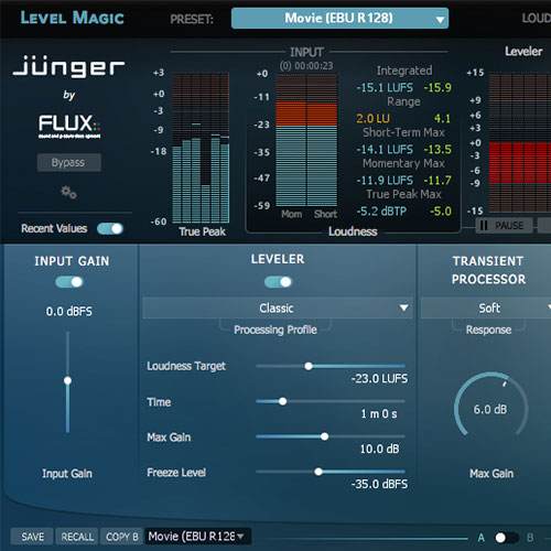 [FLUX::] Jünger Audio Level Magic Multichannel